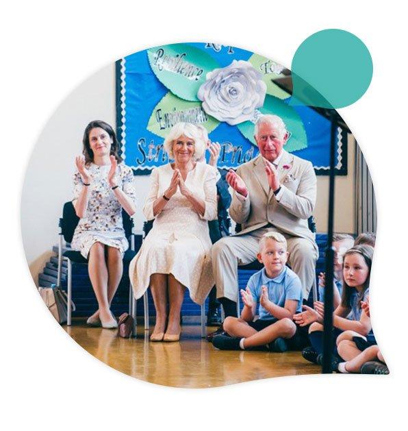 White Rose Primary School Royal Visit